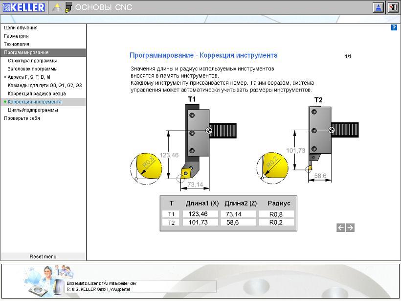 TECHNICplus (русскоязычная версия). Интерактивная учебная программа для изучения основ ЧПУ.
